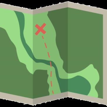 Carte à faire dans les basses gorges du  Verdon.