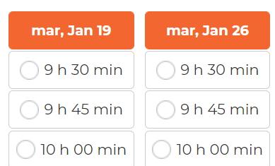 Réservez votre créneau (de 30 min) de Support Informatique